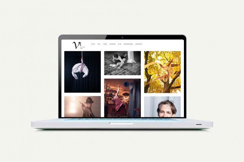 Webseite Vertikaltanz
