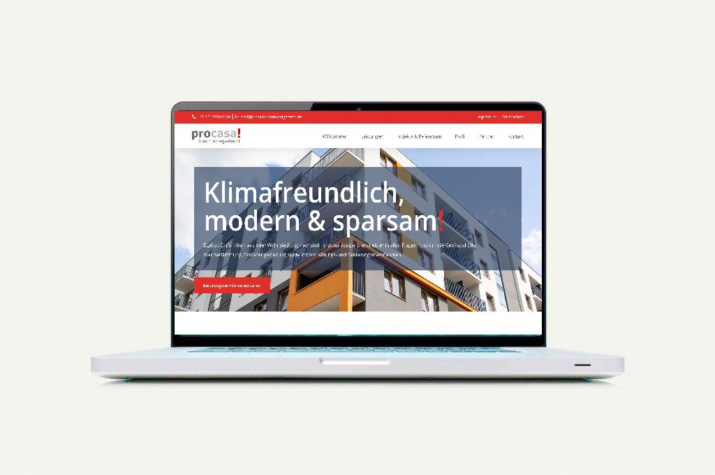 procasa Webseite