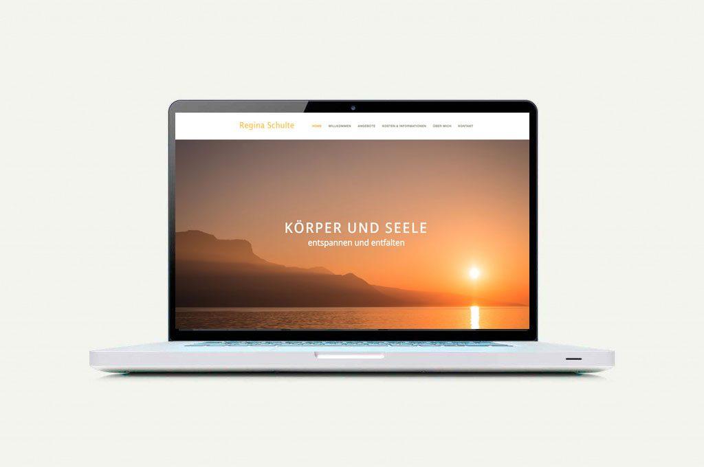 Webseite Schulte