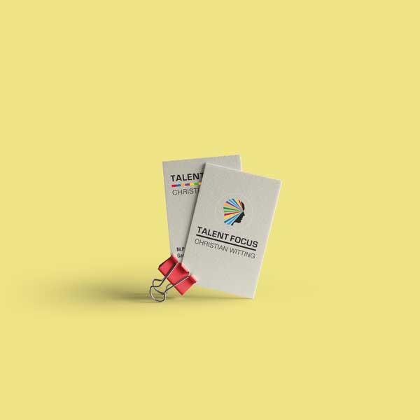 Visitenkarten Talentfocus